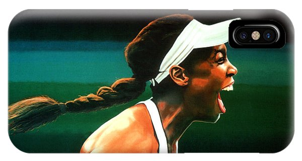 Open iPhone Case - Venus Williams by Paul Meijering