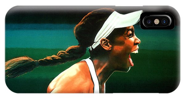Venus Williams iPhone Case - Venus Williams by Paul Meijering