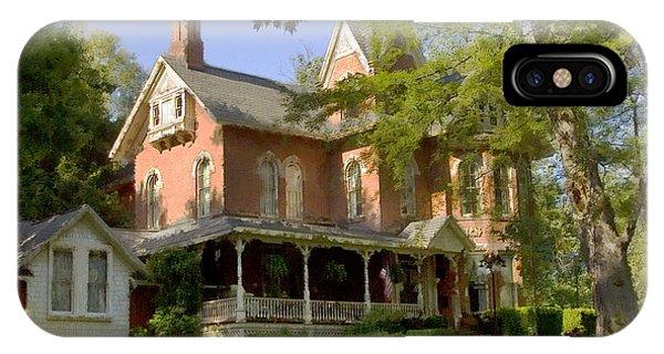 Victorian Brick House IPhone Case