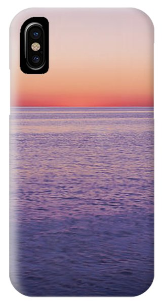 Cape Cod iPhone Case - View Of Ocean At Sunset, Cape Cod by Panoramic Images