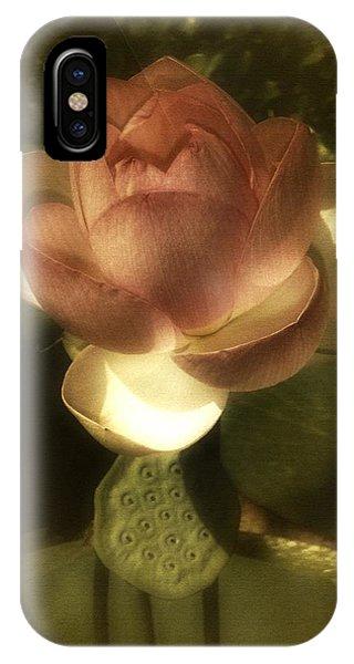 Vintage Lotus IPhone Case