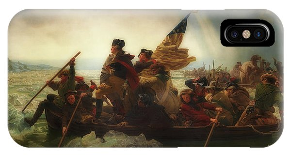 Washington Crossing The Delaware  IPhone Case
