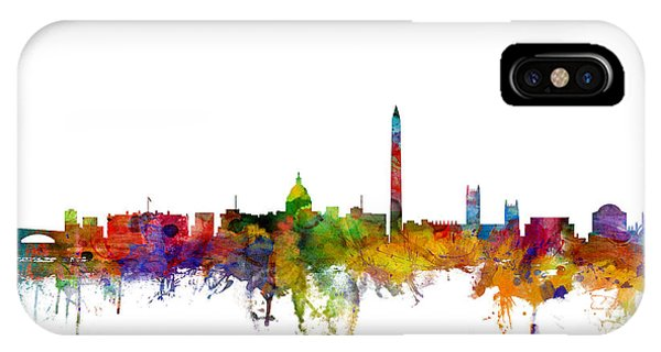 Washington Dc Skyline IPhone Case