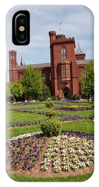 Smithsonian iPhone Case - Washington Dc, Smithsonian Headquarters by Lee Foster