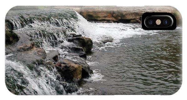 Spring Creek Waterfall IPhone Case