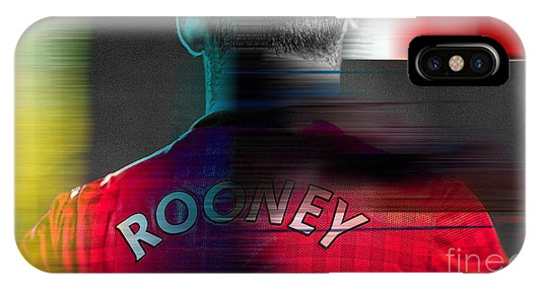 Wayne Rooney iPhone Case - Wayne Rooney by Marvin Blaine