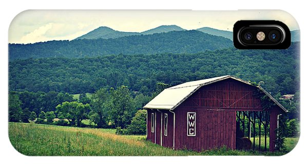 Western North Carolina Farm IPhone Case