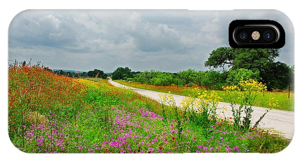 Wildflower Wonderland IPhone Case