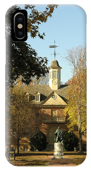 William And Mary College IPhone Case