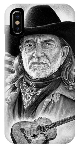 Willie Nelson American Legend IPhone Case