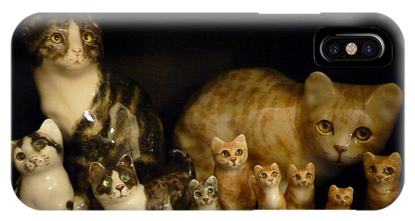 Winstanley Cats IPhone Case