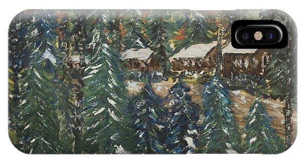 Winter Has Come To Door County. IPhone Case