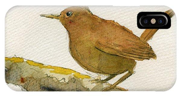 Wren Bird IPhone Case