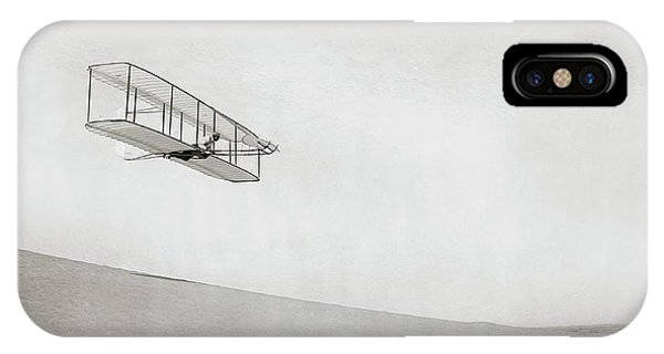Wright Brothers Kitty Hawk Glider Phone Case by Library Of Congress