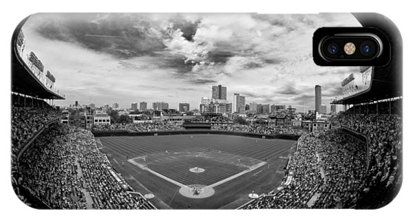Chicago iPhone Case - Wrigley Field  by Greg Wyatt