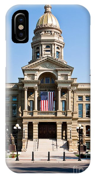 Wyoming State Capital IPhone Case