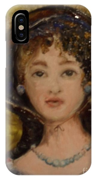 IPhone Case featuring the painting Yesterday by Laurie Lundquist
