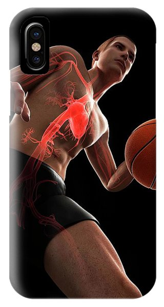 Basketball Player Phone Case by Sciepro/science Photo Library