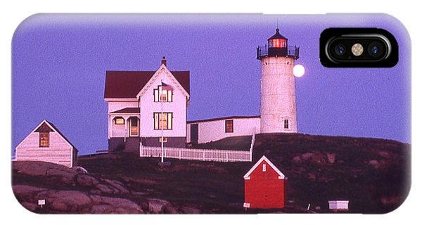 Cape Neddick Light Phone Case by Herbert Gatewood