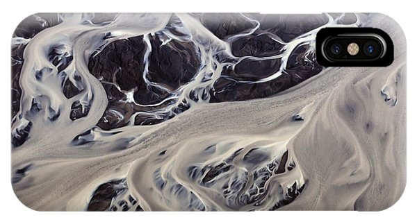 Iceland Aerial Photo IPhone Case