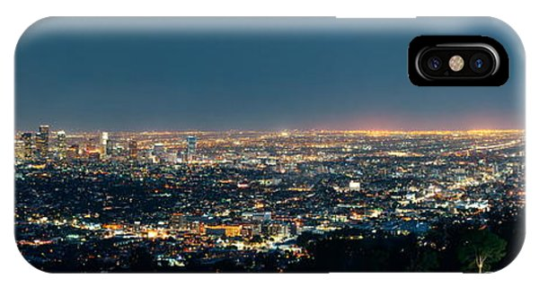 Los Angeles At Night IPhone Case
