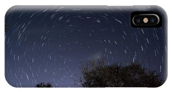 IPhone Case featuring the photograph 20 Minutes Of Star Movement by Todd Aaron