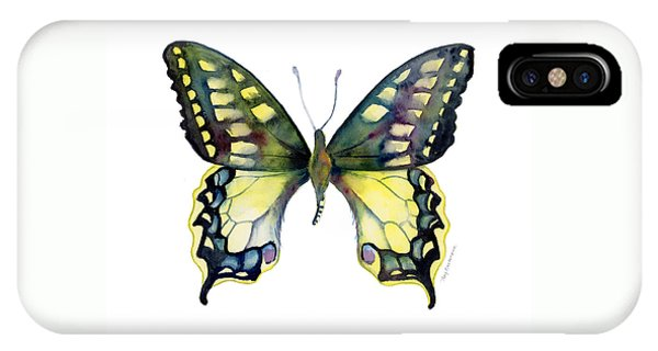 20 Old World Swallowtail Butterfly IPhone Case