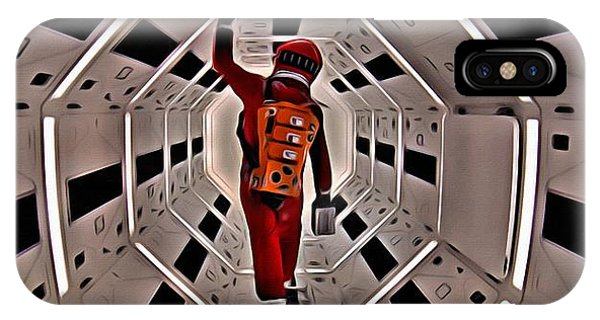 2001 A Space Odyssey IPhone Case