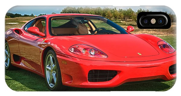 2001 Ferrari 360 Modena IPhone Case
