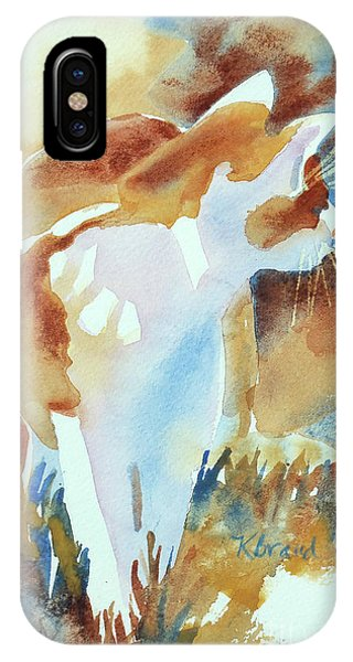 Quick iPhone Case - 2004 Cat On The Prowl  I  by Kathy Braud