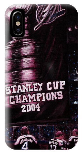 2004 Champs IPhone Case
