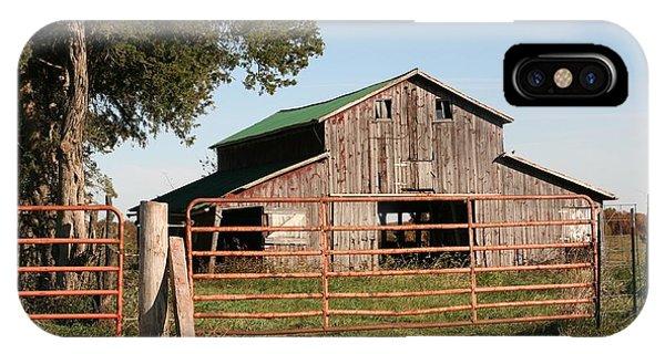 2008 Barn IPhone Case