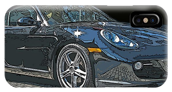 2009 Porsche Cayman IPhone Case