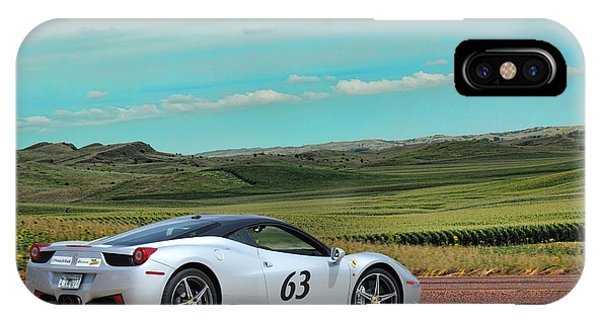 2010 Ferrari IPhone Case