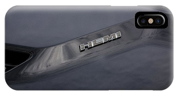 2011 Dodge Challenger Rt Black IPhone Case