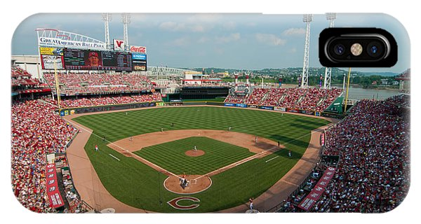 2011 Great American Ball Park IPhone Case