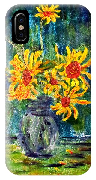 2012 Sunflowers 4 IPhone Case