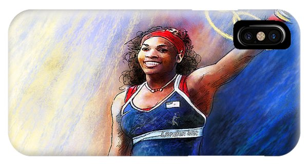 2012 Tennis Olympics Gold Medal Serena Williams IPhone Case