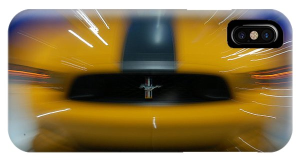 2013 Ford Mustang IPhone Case