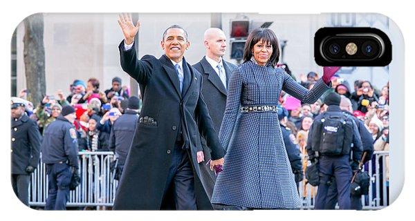 2013 Inaugural Parade IPhone Case