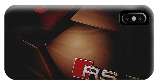 2014 Audi Rs7 Logo Rear IPhone Case