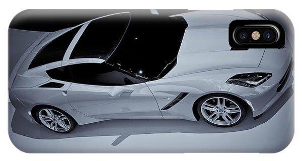 2014 Chevy Corvette  Bw IPhone Case