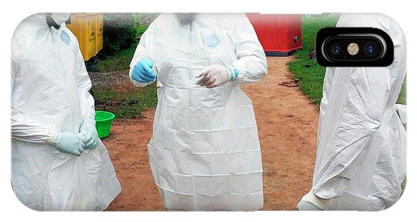 2014 Ebola Virus Disease Outbreak Phone Case by Cdc