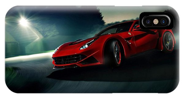 2014 Novitec Rosso Ferrari F12 Berlinetta N Largo IPhone Case