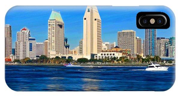 2014 San Diego Skyline IPhone Case