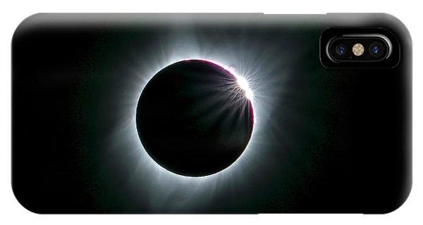 2017 Total Solar Eclipse Phone Case by Hua Zhu