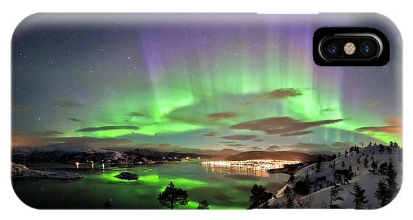Aurora Borealis Phone Case by Tommy Eliassen