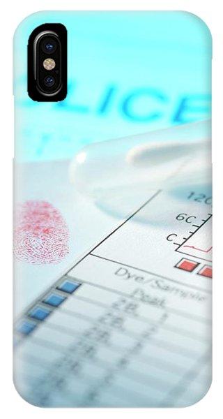 Forensic Evidence Phone Case by Tek Image