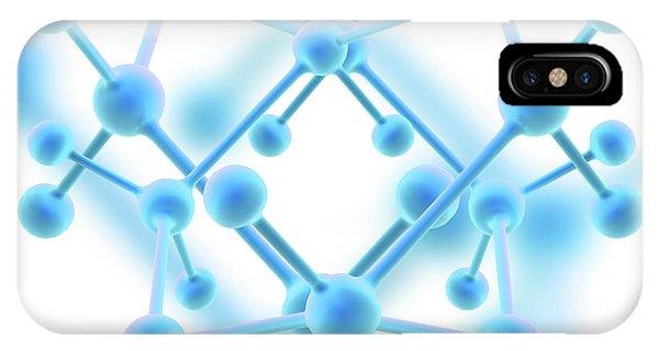 Molecule Phone Case by Alfred Pasieka