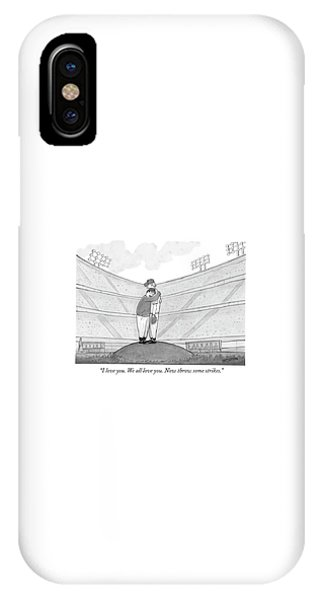I Love You. We All Love You. Now Throw Some IPhone Case